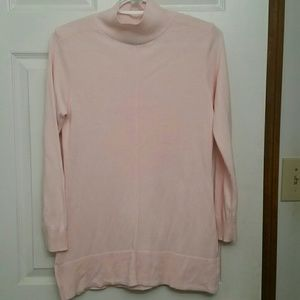 Karen Scott Mock Neck Light Weight Sweater